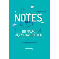 Notes do nauki języków obcych Okładka Zielona