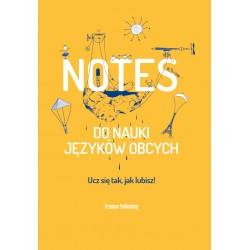 Notes do nauki języków obcych Okładka Żółta