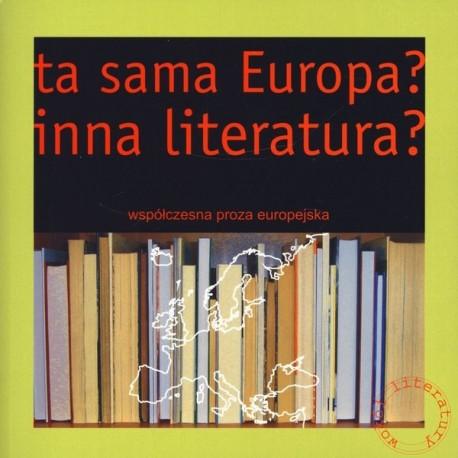 Ta sama Europa? Inna literatura?
