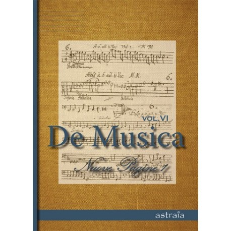 DE MUSICA VOL VI (ASTRAIA)MTM