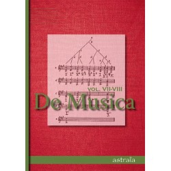 De Musica Vol VII-VIII