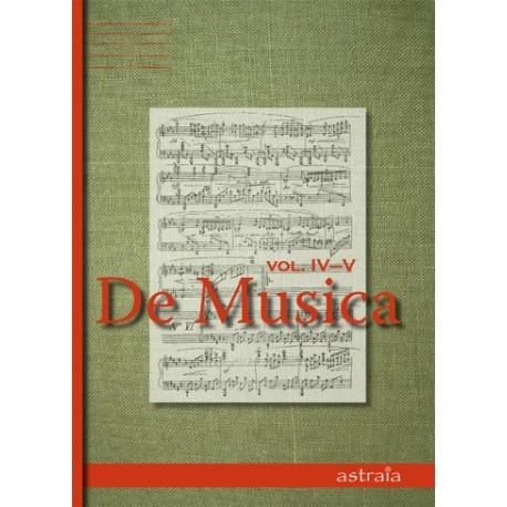 De Musica Vol IV-V