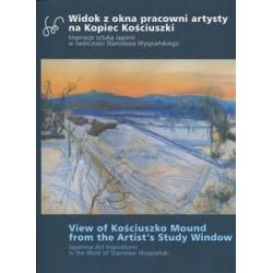 Widok z okna pracowni artysty na Kopiec Kościuszki